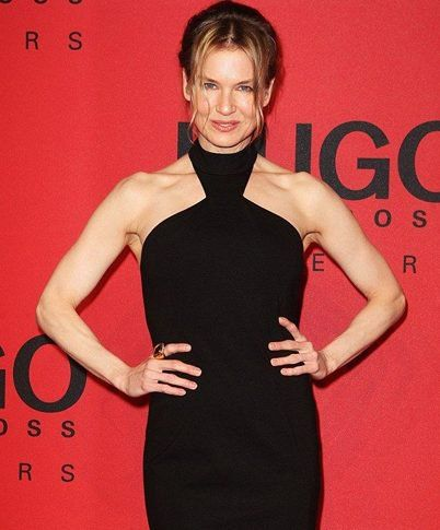 Renee Zellweger With Big Shoulders Dresses For Broad Shoulders Trending Dresses Broad Shoulders