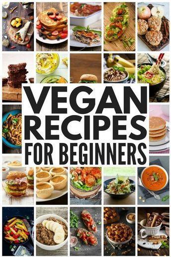 Cheap Easy Vegan Meals 50 Vegan Meals For Beginners Vegan