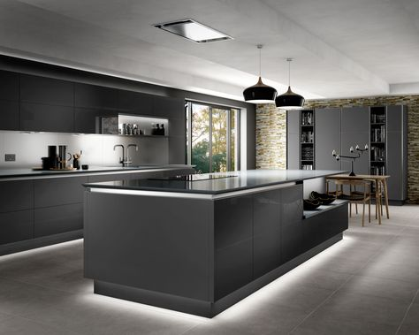 Intelliga Esker Contemporary Kitchen Range | Wickes.co.uk