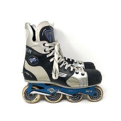 Advertisement Ebay Bauer Vapor Xl Hockey Roller Blades Inline Skates Mens 10 Ee Forward Flex Blue St Louis Blues Hockey Gloves Blues Nhl