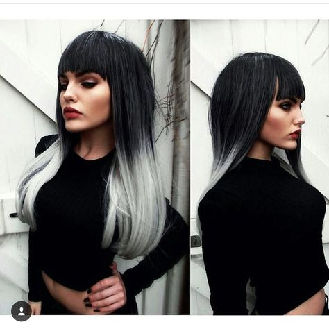 The beautiful @enola_jay Wearing Lush Wigs - Silver Ombre (new style) 65cm and looking amazing  #lushwigs #lushwigssilverombre  Available now  www.lushwigs.com
