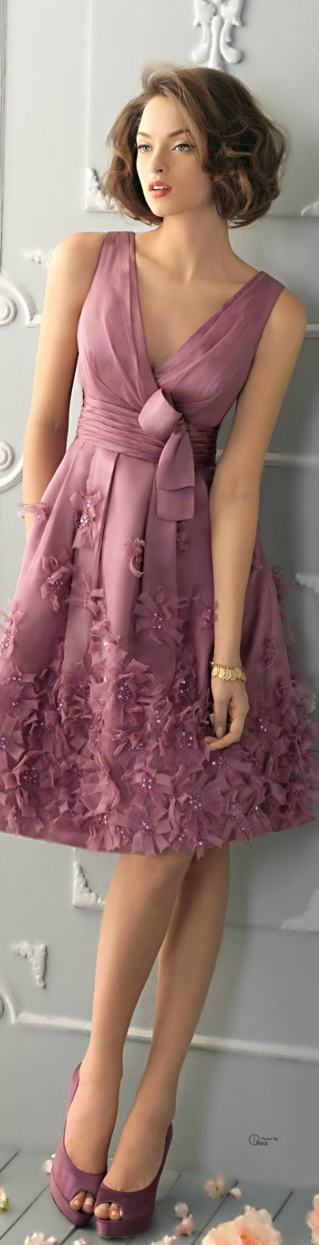 Rosa Clará.. I like the bottom but I would see the top higher or wear a camisole with this one.