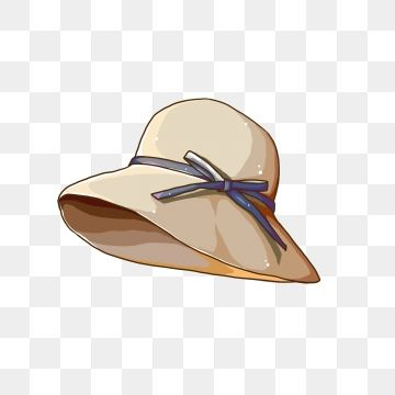 Vacation Sunshade Hat Hand Painted Straw Hat Cartoon Hat Travel Png Transparent Clipart Image And Psd File For Free Download Clip Art Cartoon Clip Art Hats