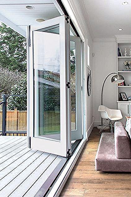 Save Space In Your Home With Interior Sliding Doors In 2020 Folding Patio Doors French Doors Patio Bifold Patio Doors