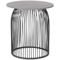Runder Gartentisch In Betonoptik 60 X 60 Cm Tchibo Gartentisch Betonoptik Garden Table Side Table Table
