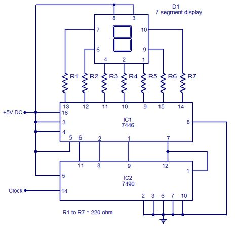 Divide-by-two bistable circuit Electronic schematics Pinterest - new blueprint digital timer 240v