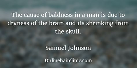 Image result for quotes on baldness