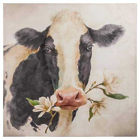 Pin By Jackie Russell Norwood On Castle Norwood Cow Canvas Cow