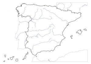 Mapas Físicos Y Políticos De España Para Imprimir Mapa Fisico De España Rios De España Mapa Fisico