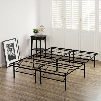Zinus Smartbase Bed Frame Double In 2020 Bed Frame King Bed