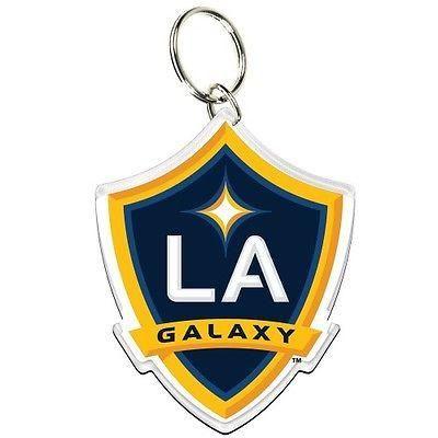 Los Angeles Galaxy Premium Key Ring With Images La Galaxy Galaxy Keyrings