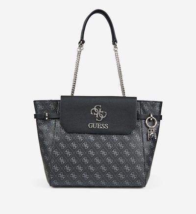 Guess Grand Sac Cabas Esme Monogramme Graine In 2020 Bags Kate Spade