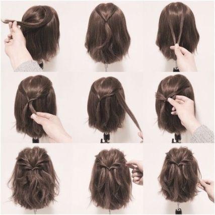 Frisuren Frauen Einfach Frisurentrends Schone Frisuren Kurze Haare Zopf Kurze Haare Geflochtene Frisuren