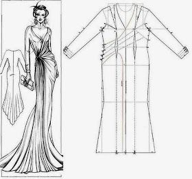 Costura Y Patrones Trazos De Vestidos шитье Moldes De