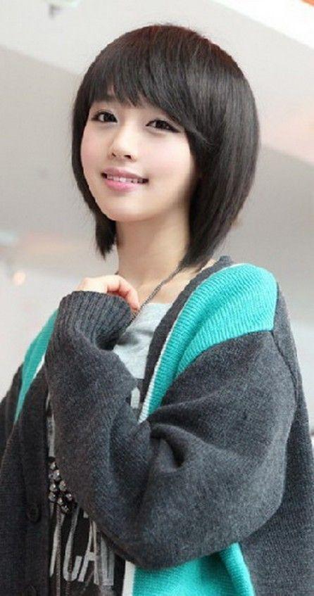 Cute Korean Short Hairstyle Cute Hairstyle Korean Short Short Hair Styles Korean Short Haircut Korean Hairstyle