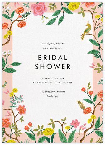 Bridal shower invitations  | Send online instantly | RSVP tracking