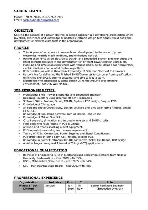 RESUME BLOG CO Beautiful One Page Resume   CV Sample in Word Doc - electronic assembler sample resume