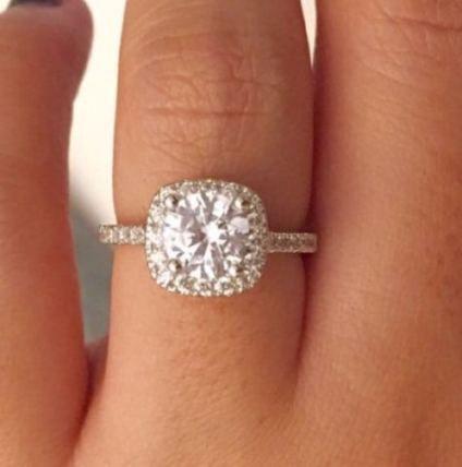 Wedding rings box ideas halo engagement 43 ideas | Swarovski ...