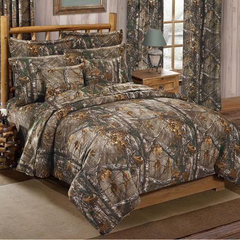 Realtree Xtra Camo Comforter Sets Carson S Camo Hunting Room