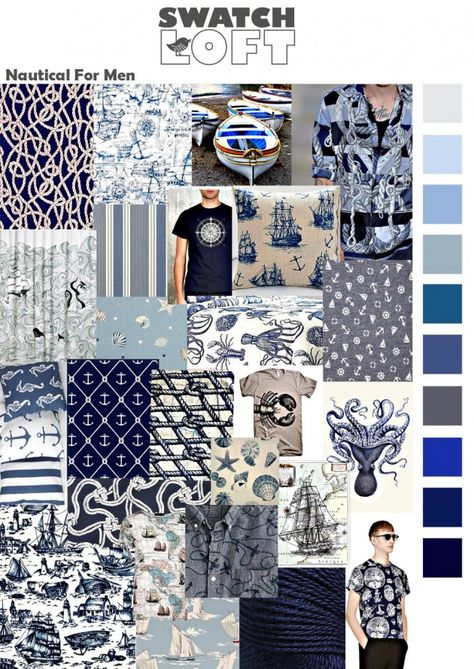Naughty nautical prints for men is the perfect trend for the fashion conscious man this season. The nautical story returns this year