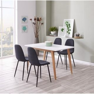 Ids Online Contemporary Norway Simplicity Style Mdf Dining Table
