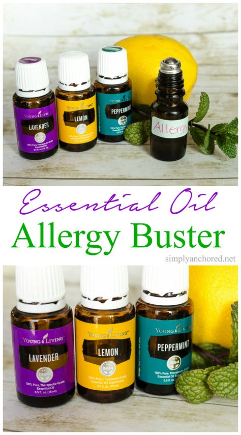 Throw away those OTC allergy meds and use essential oils!