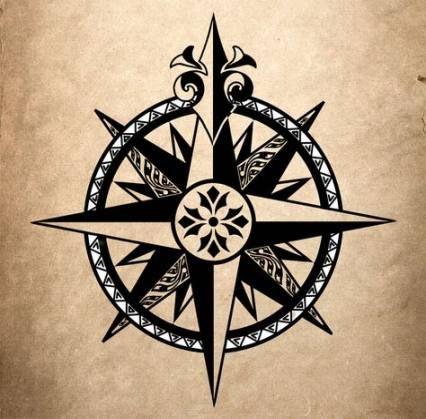20+ Ideas Tattoo Compass Color True North #tattoo