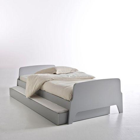 Lit Style Retro Vintage 1 Personne Adil In 2019 Habitacio Retro Bed Single Bunk Bed Fashion Lighting