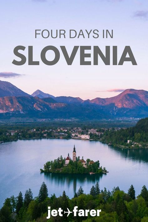 This little country is one of the most underrated countries in Europe. Traveling in Slovenia is someone everyone should do at least once! Click through for a sample itinerary for four days in Slovenia that we hand-curated for you. Even if you don't have a lot of time, you can still see many of Slovenia's highlights! | Slovenia travel | things to do in Slovenia | #Slovenia | Europe travel | outdoors Slovenia | hiking in Slovenia |