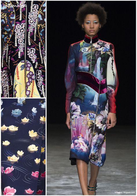 Mary Katrantzou – Fall 2017 – RTW – London Fashion Week – Print & Pattern Highlight