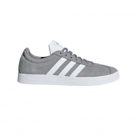 adidas VL Court 2.0 B43807 vrijetijdsschoenen heren grey ...