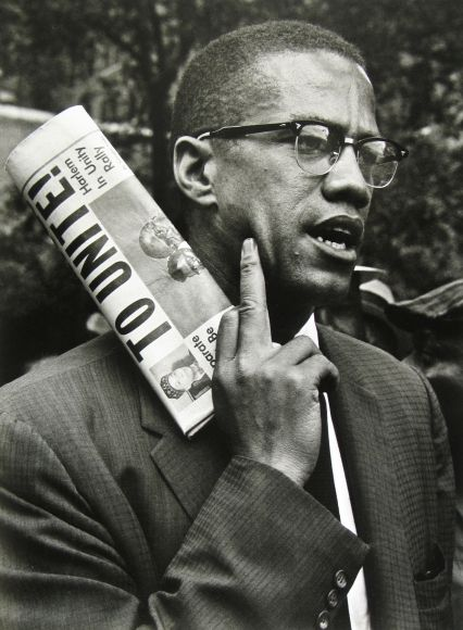 Malcolm X, born Malcolm Little and also known as El-Hajj Malik El-Shabazz, was an African-American Muslim minister and human rights activist. Malcolm X, Vivian Maier, André Kertesz, Black Leaders, Black Civil Rights Leaders, Human Rights Activists, Black Panther Party, By Any Means Necessary, Black History Facts