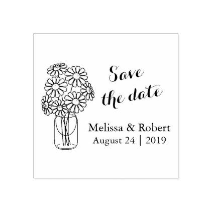Wedding + save the date rubber stamps   ウエディングフラッグ.