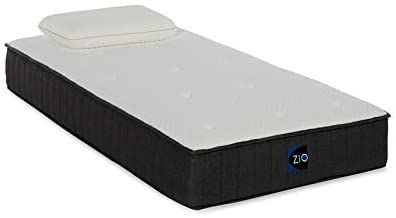 Linon Zio Sleep 10 Inch Twin Gel Infused Memory Foam Mattress In 2020 Memory Foam Mattress Foam Mattress Linon