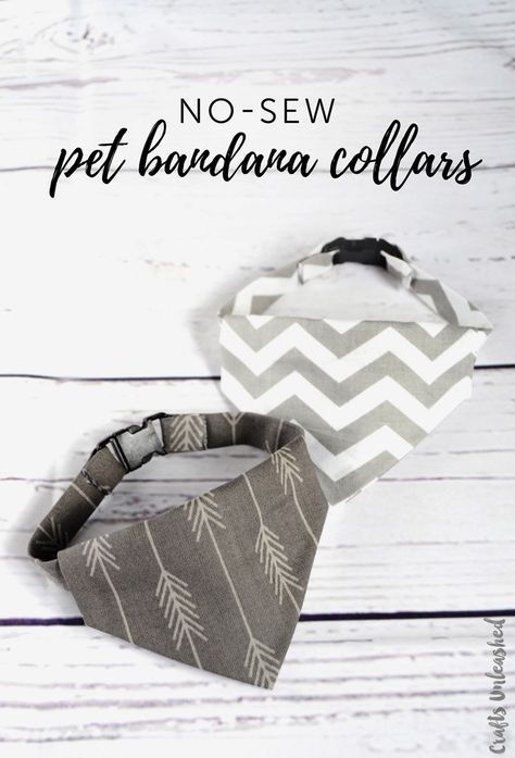 This tutorial for a no-sew DIY dog collar bandana comes together in less than an hour! It's fast and fun to assemble and will get so many compliments! # Dogs frases DIY Dog Collar: No-Sew Bandana Collar - Consumer Crafts Scottish Terrier, Dog Collar Bandana, Diy Dog Collar, Bandana For Dogs, Bandana Ideas, Cool Dog Collars, Bandana Bow, Puppy Bandana, Diy Collier