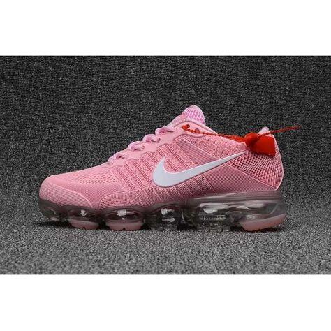 cheap for discount a2ea2 fc08c Femme Nike Air Vapormax KPU TPU Chaussures Rose Blanc Clearance ...