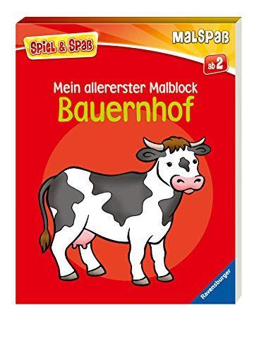 Mein Allererster Malblock Bauernhof Spiel Bucher Thema Bauernhof Bucher Bestellen