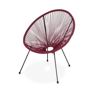 Fauteuil Acapulco Fauteuil Design Design Retro Ensemble Table Et Chaise
