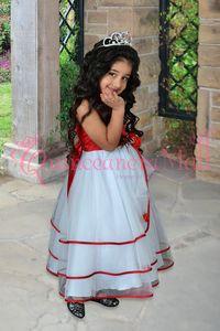FLOWER GIRL DRESS #FGD028RD