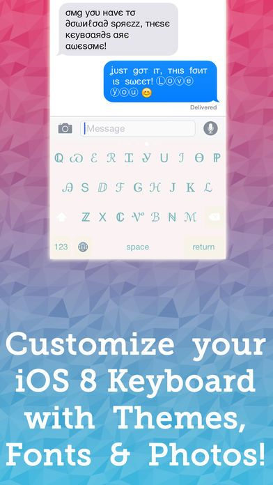 Download IPA and APK files of Sprezz – Custom Keyboard