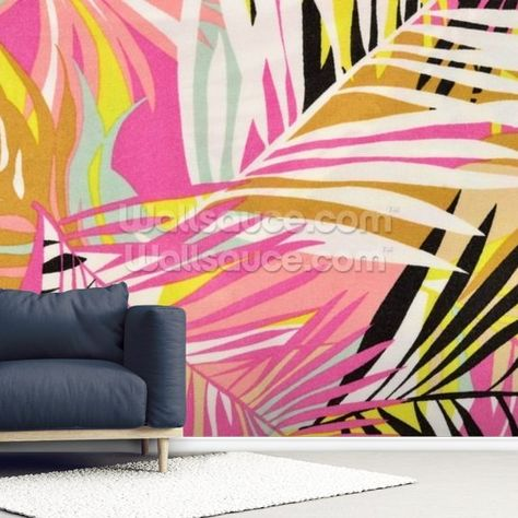 Vibrant Tropical Pattern Palletes In 2019 Pattern