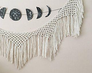 Fresh Fringe Crochet Banner Pattern By Wildflower Crochet Co Crochet Bunting Pattern Bunting Pattern Crochet Bunting