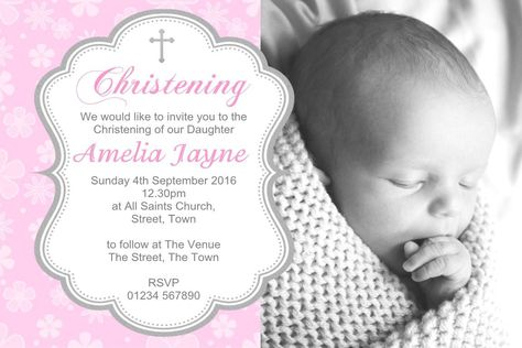 free baptism invitation templates printable Einladungskarten - sample baptismal invitation for twins