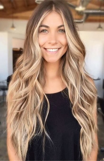 40 Trendy Hairstyles Long Middle Part Hair Styles Frontal Hairstyles Long Hair Styles