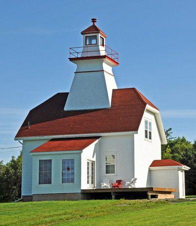 Mullins Point Range Rear Light Ns Nova Scotia Lighthouse Beautiful Lighthouse