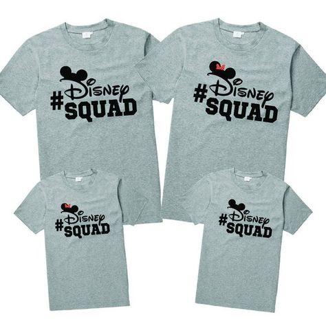 49cdecdd Disney Squad Shirt - Disney Family Shirts - Disney Group Shirts - Disney  Sunglasses Shirt - Family D