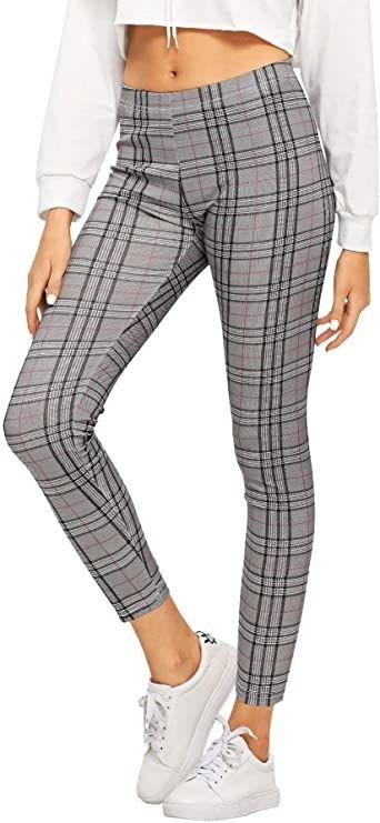 Pantalones Para Mujer De Cuadros Escoceses Baratos Leggings Are Not Pants Leggings Sale Printed Leggings