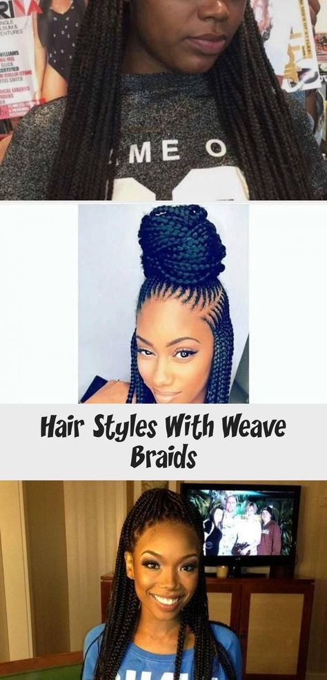 Hair Styles With Weave Braids #Beautifulnaturalhair #naturalhairGrowth #Shortnat...,  #Beautifulnaturalhair #braids #differenthairstyleswithweave #Hair #naturalhairGrowth #Shortnat #Styles #Weave