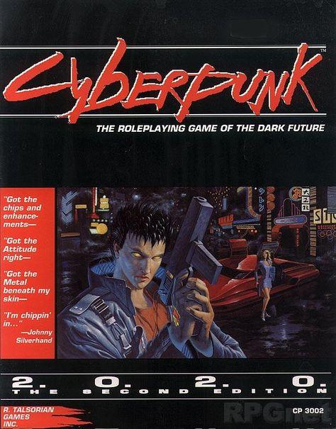 reprint Cyberpunk 2020 Core Book