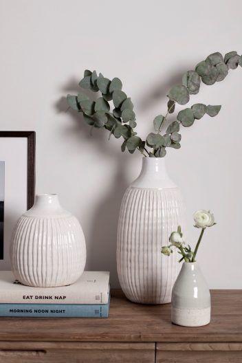 Cream Tall Vase Tall Vases Vase Decorative Objects